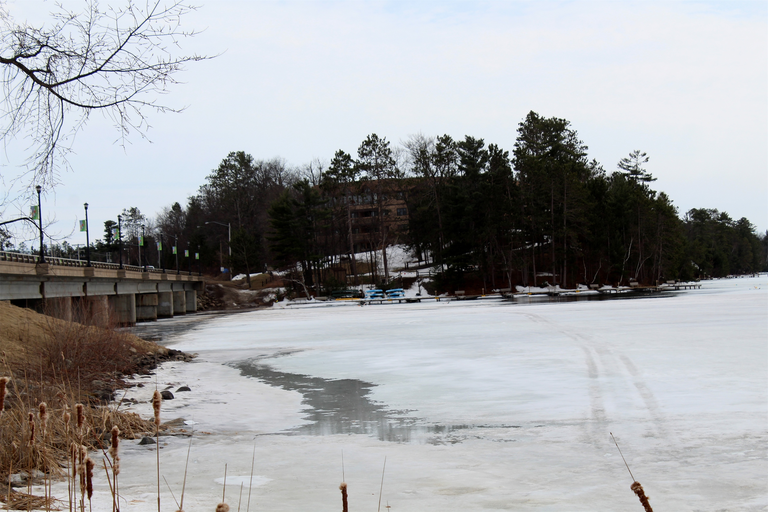 It hasn't been long since Lake Minocqua was covered in ice. Kim Johnson photo