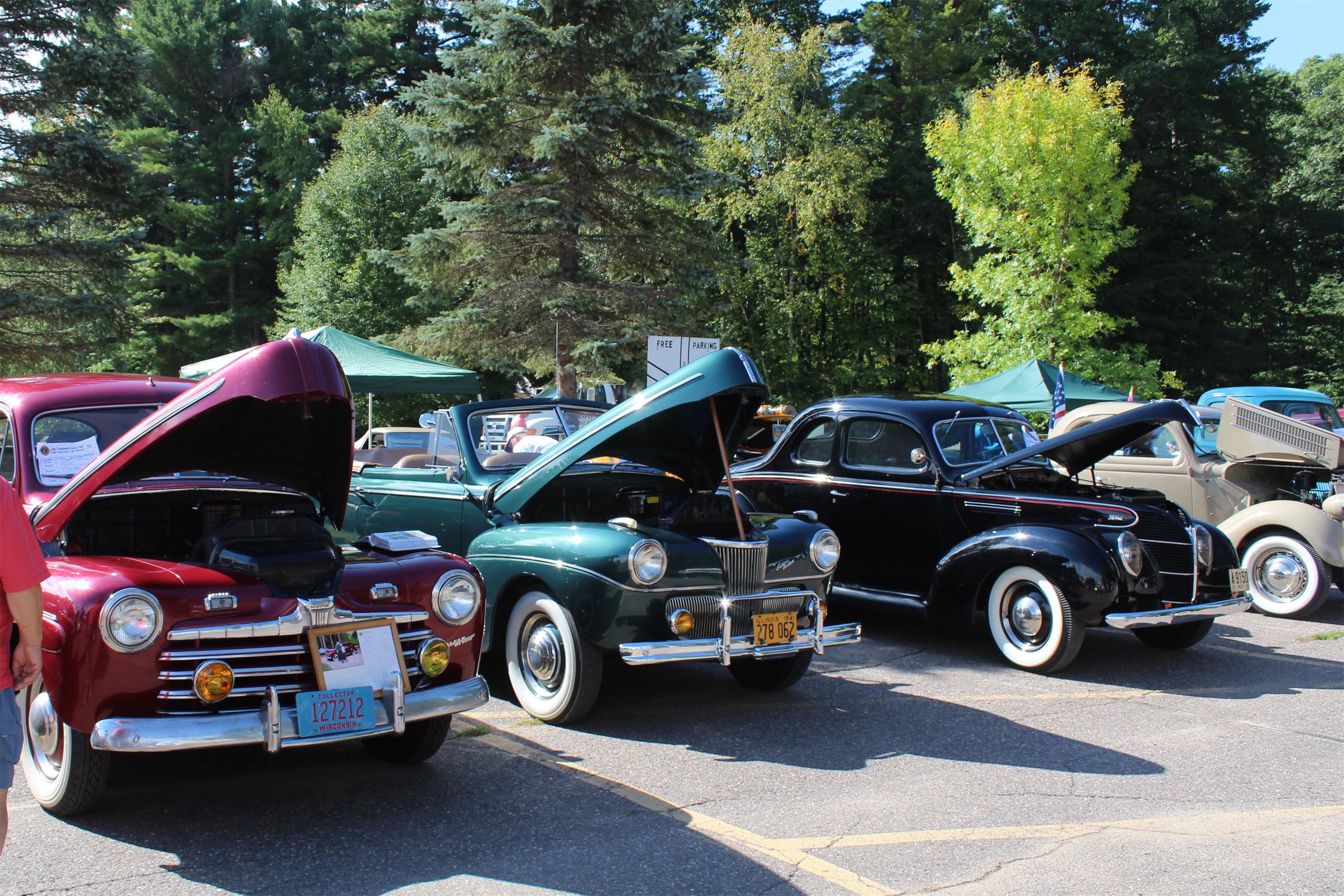 The annual car show held at the Lions Fall Harvest Festival in Lake Tomahawk. Kim Johnson photo