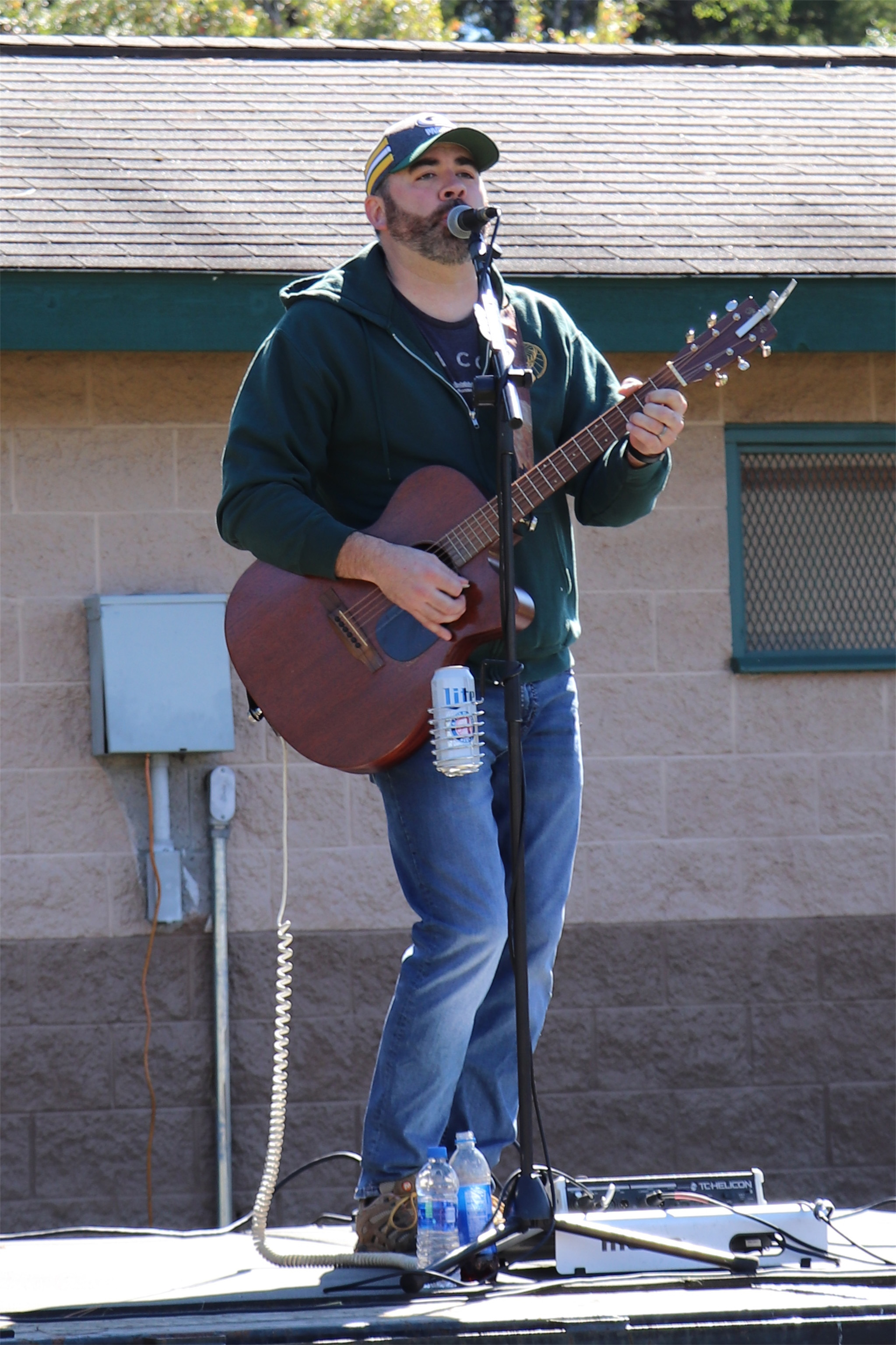 Brad Emanuel plays for the crowd at Colorama in St. Germain. Kim Johnson photo