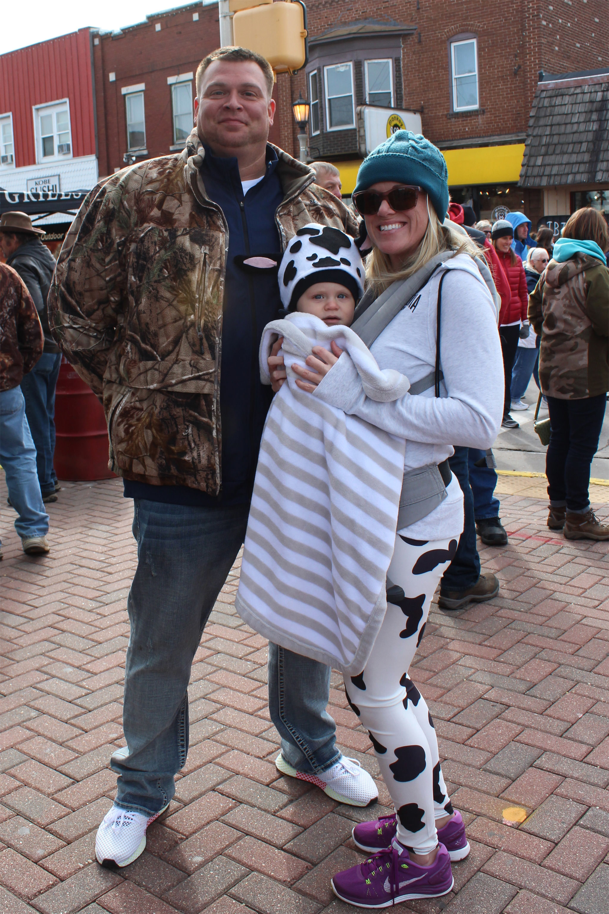 Even this little one is dressed up for Beef-A-Rama. Kim Johnson photo