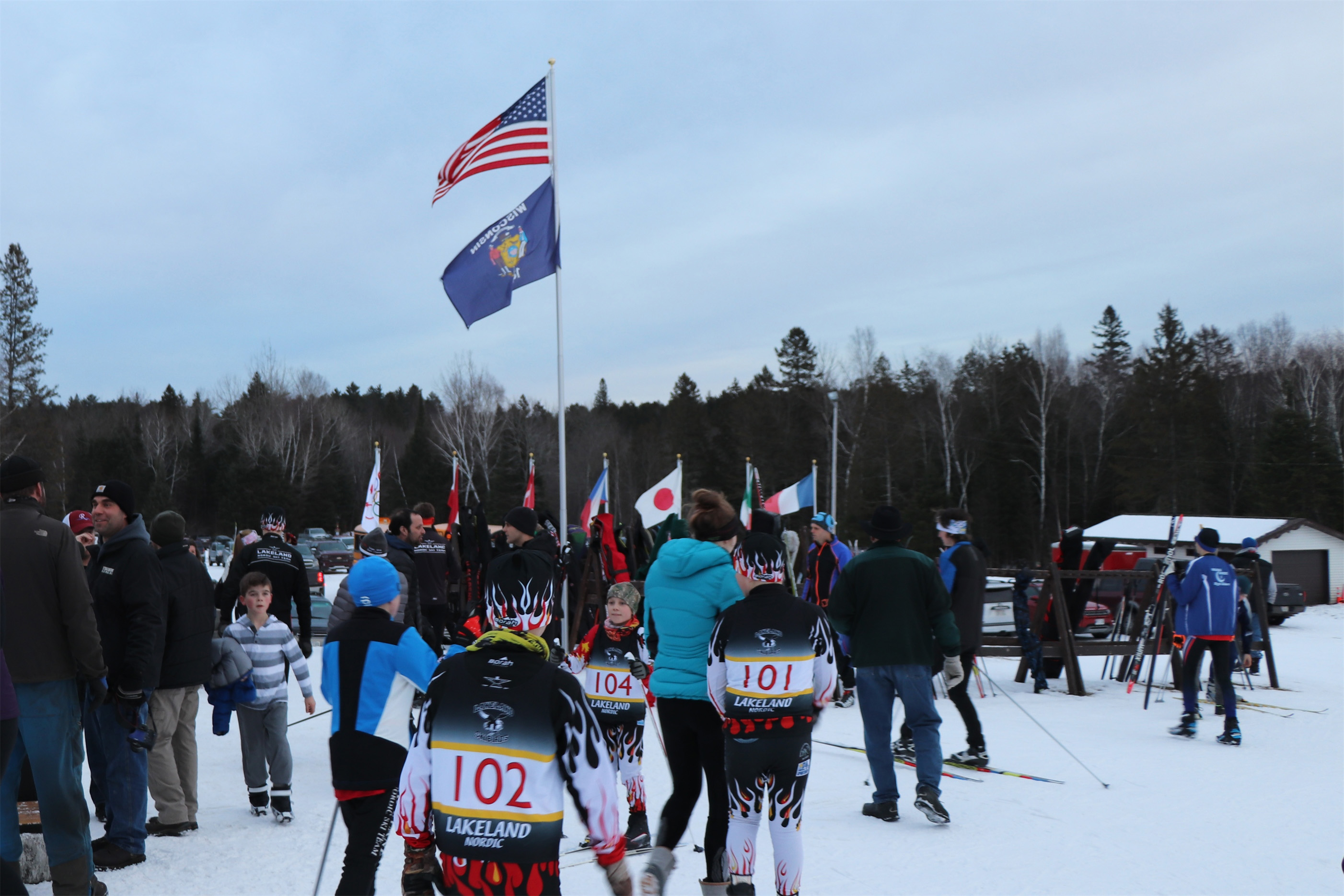 Minocqua Winter Park had a great turnout for their recent hosted ski race. Kim Johnson photo
