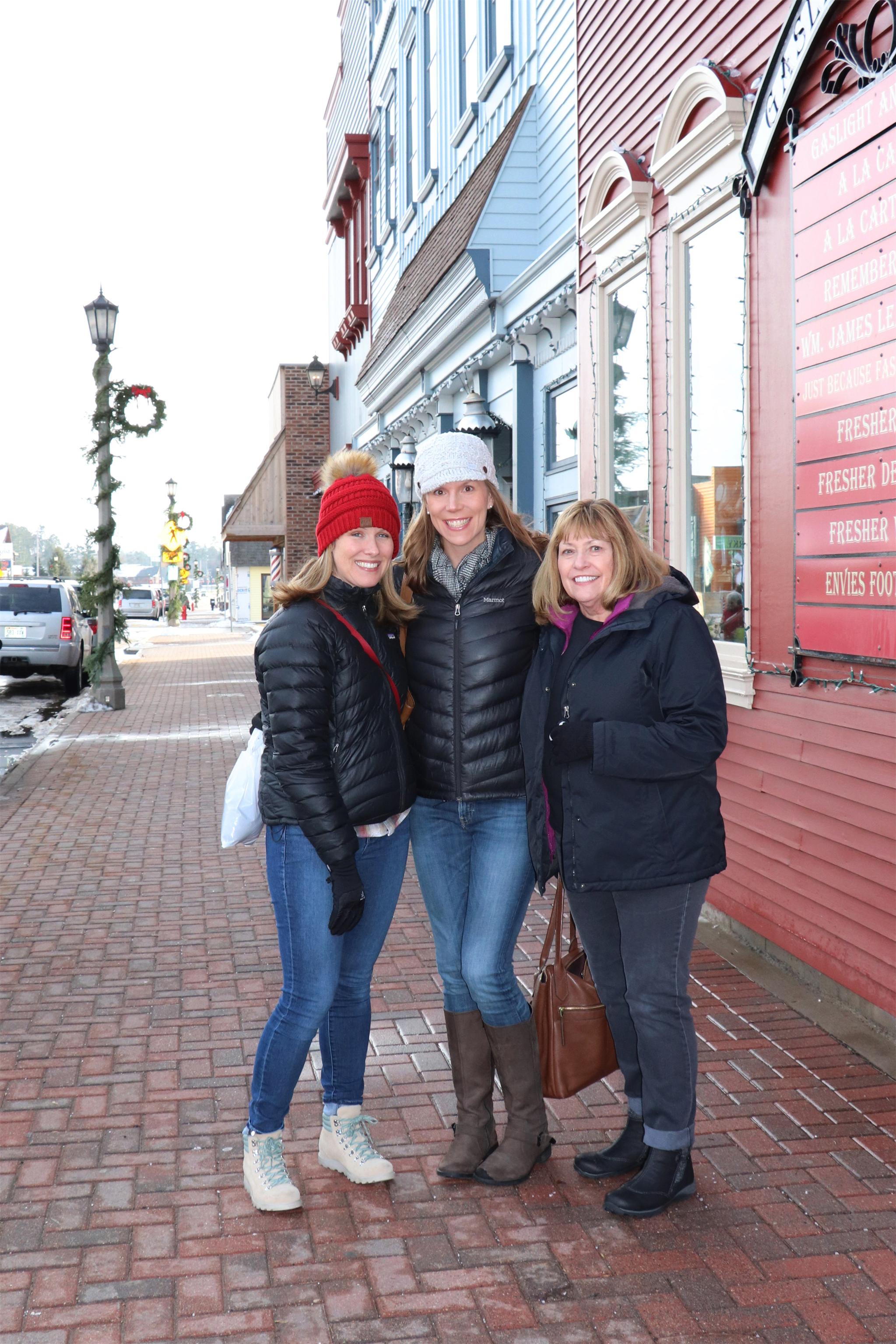 These ladies enjoy Small Business Saturday in Minocqua. Kim Johnson photo