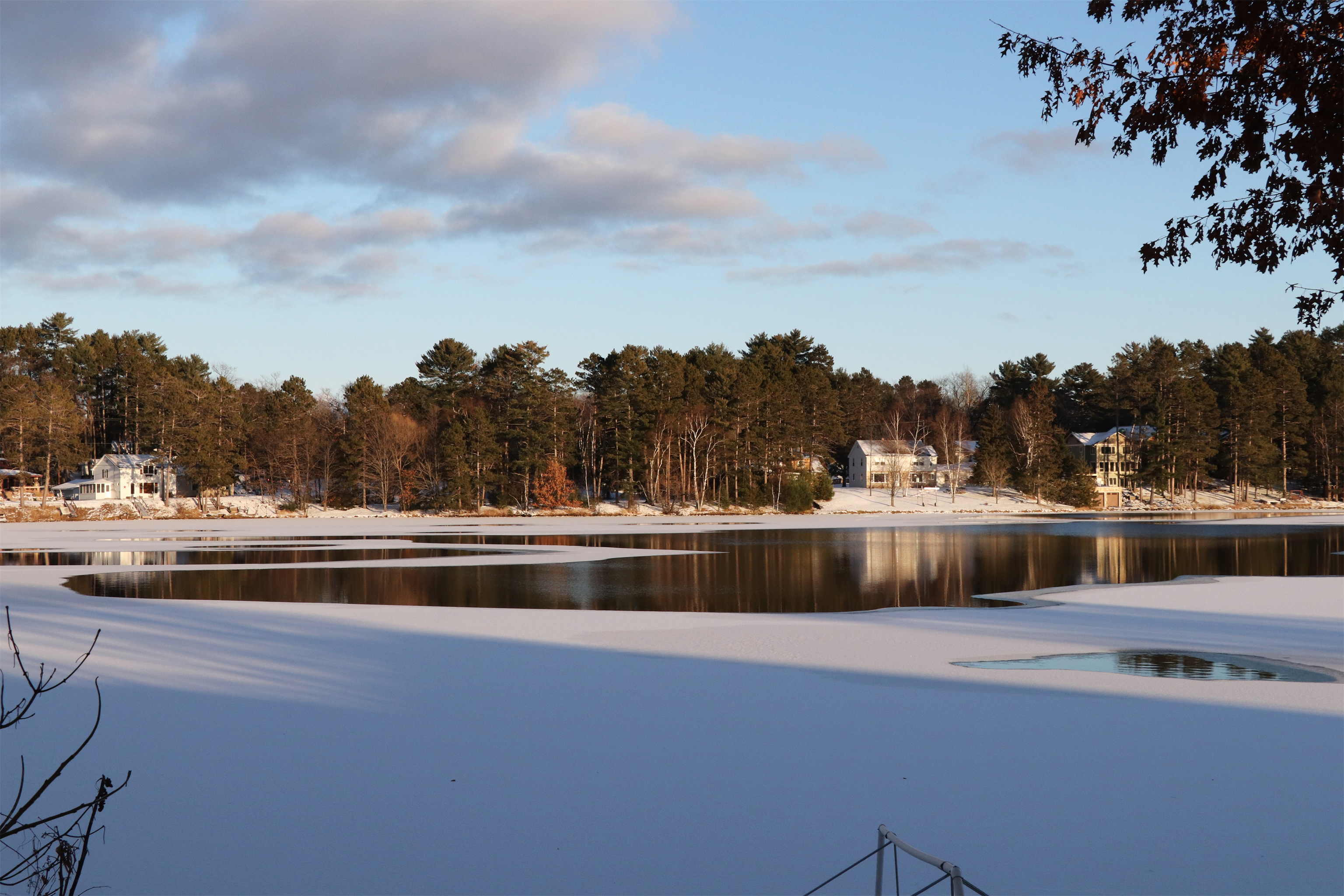 A beautiful winter view of Schoolhouse Bay, Lake Minocqua. Kim Johnson photo