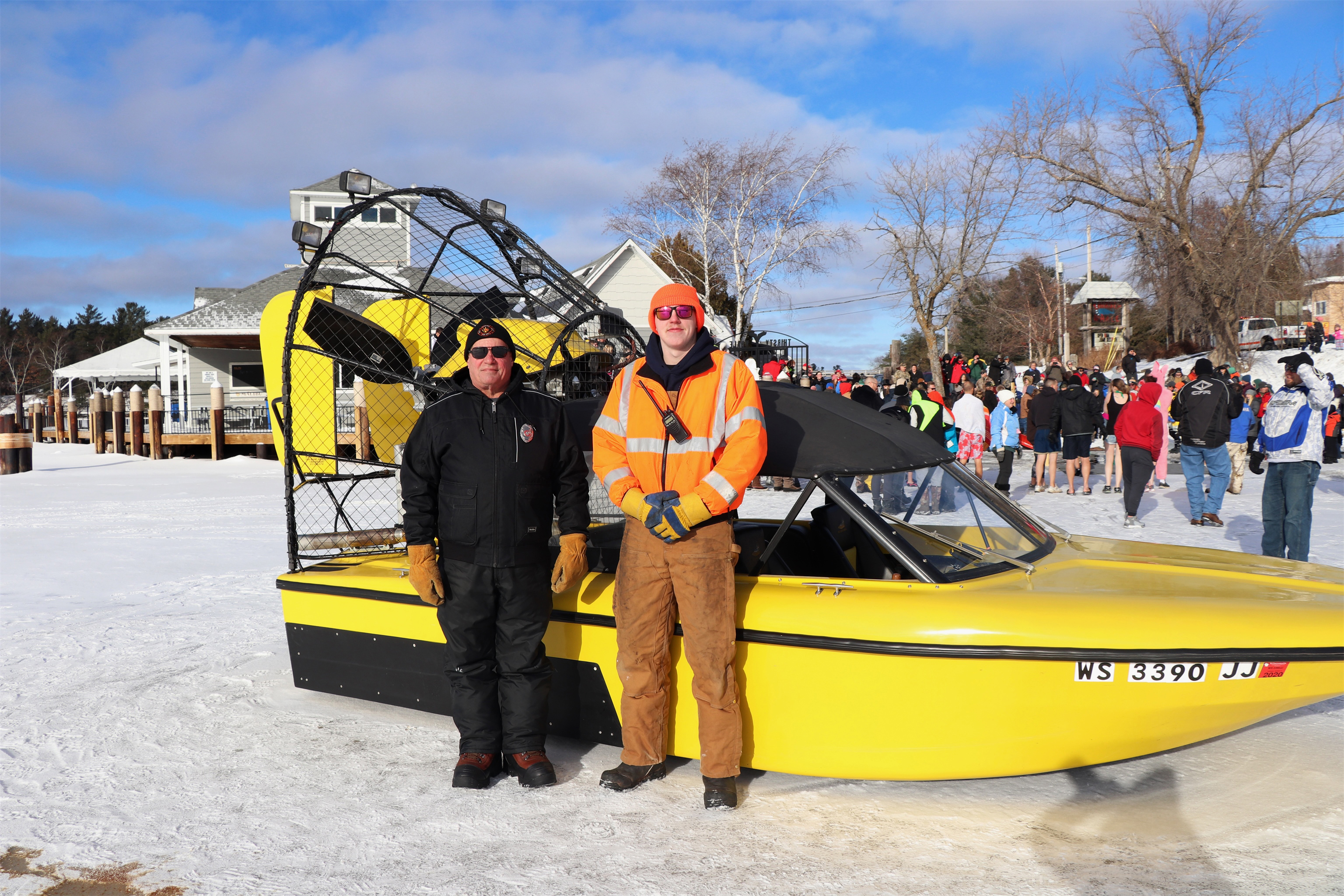 An airboat was recently donated to the Minocqua Fire Department. Kim Johnson photo