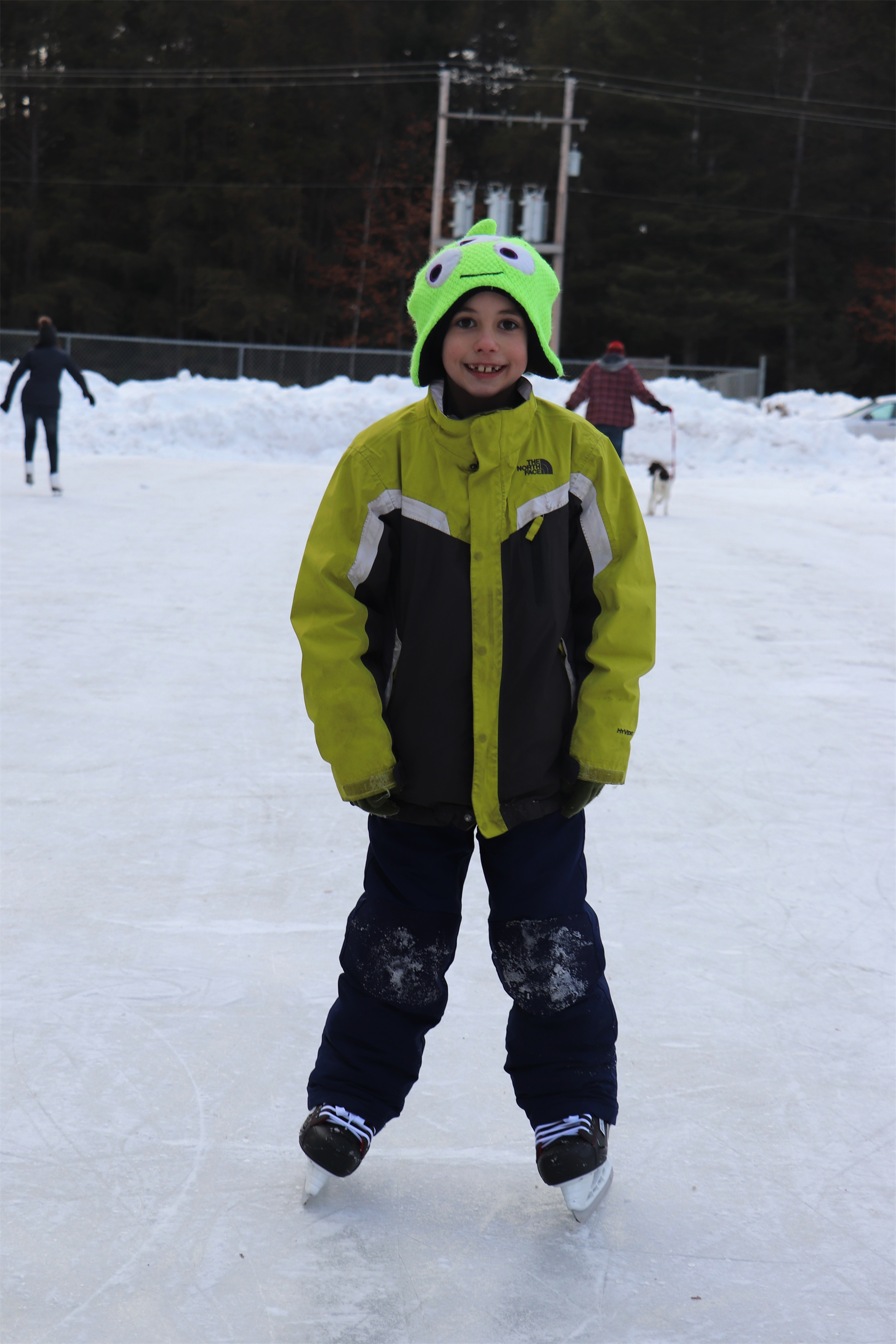 Ice skating in Woodruff is perfect winter fun. Kim Johnson photo