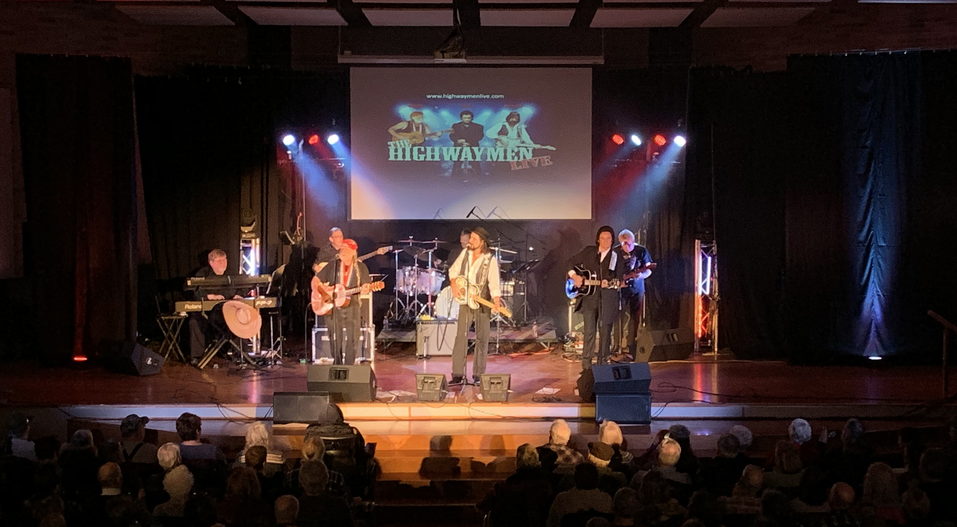 """The Highwaymen Live"" at Campanile Center in Minocqua. Kim Johnson photo"